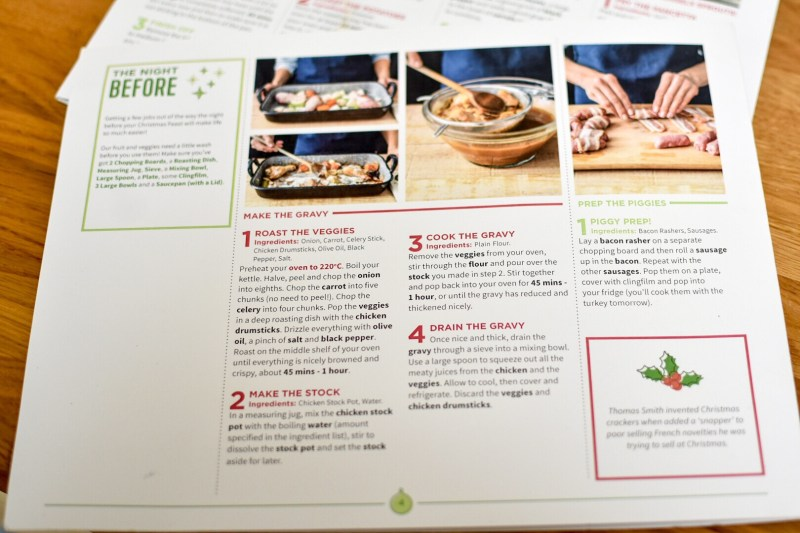 I bring good news about a great, stressfree way to simplifying the Christmasday dinner with a HelloFresh Christmas box.