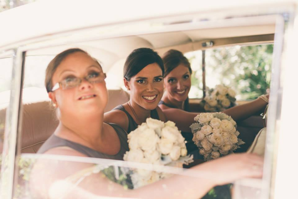 Beautiful bridesmaids ~ Emily, Liz, Lucy