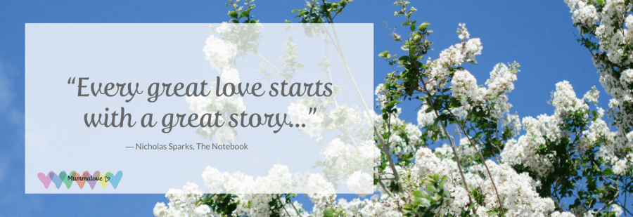 Every great love starts with a great story