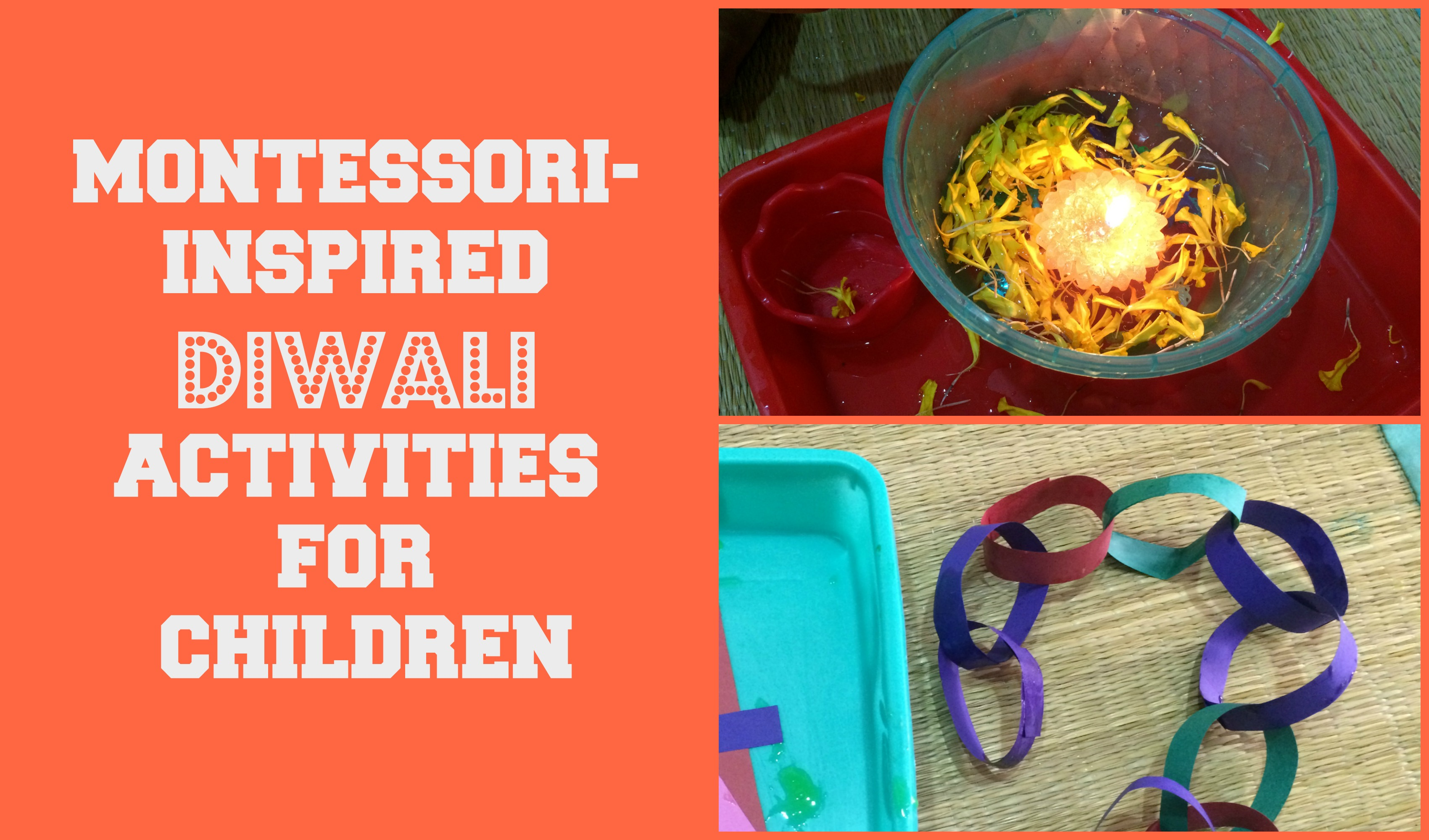 Montessori Inspired Diwali Activities For Toddlers