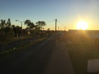 Sunset over Quilpie.