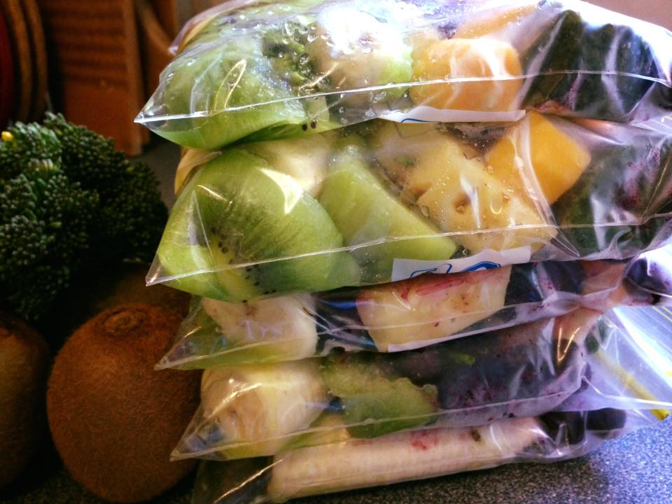 How to prep smoothie packs