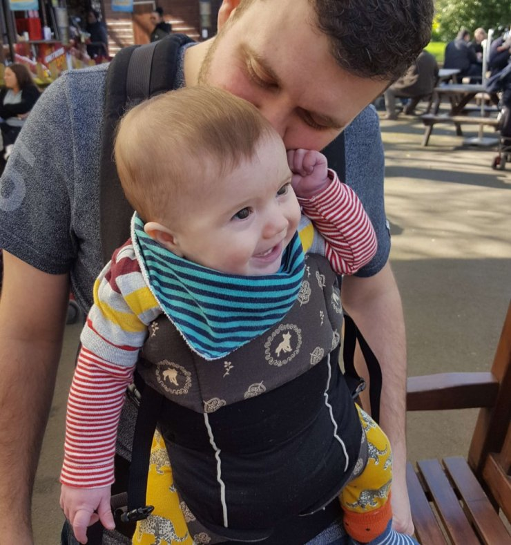 Baby And Dad Carrier