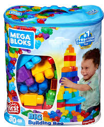 Buy Mega Bloks Big Building Bag, Multicolor Online at Low Prices ...