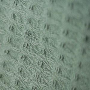 doppellagiges Tuch – meeresgrün – spitz