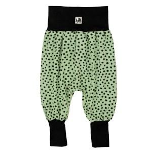 Pumphose – Punkte – meeresgrün