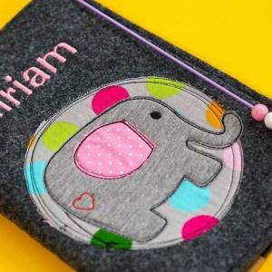 Uheft-Hülle – Elefant – Miriam