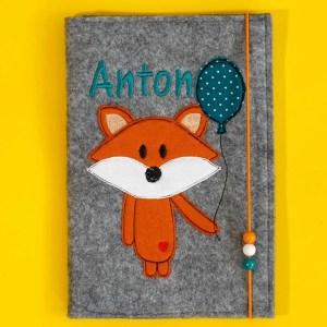 Uheft-Hülle – Fuchs – Anton