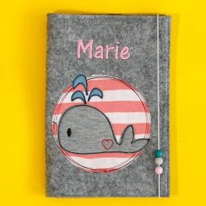 Uheft-Hülle – Wal – Marie