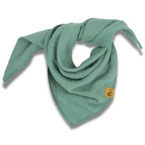 Musselintuch – meeresgrün – Baby