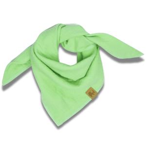 Musselintuch – waldmeistergrün – Baby