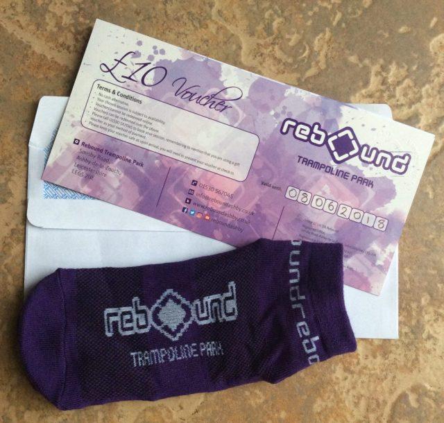 Trampolining vouchers