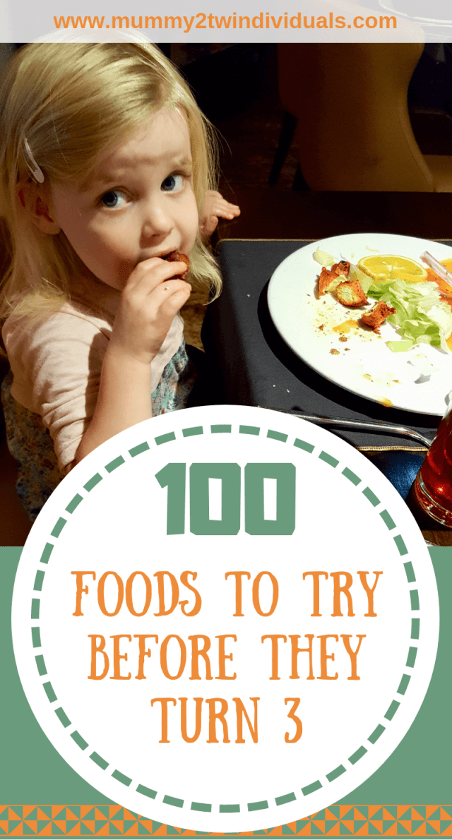 There are so many great foods to introduce to little ones. Even if they're not keen initially, keep introducing new foods.