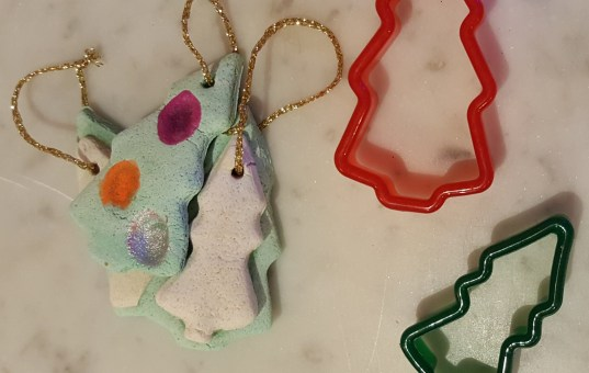 Simple Salt Dough Christmas Decorations