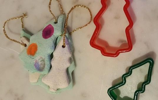 Simple Salt Dough Christmas Decorations