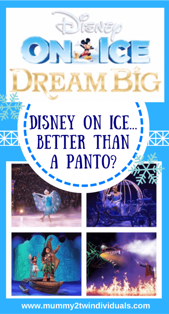 is disney on ice better tha a pantomime? here is my review