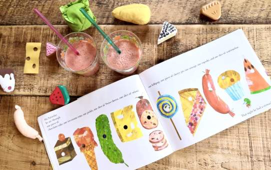 World Book Day: The Hungry Caterpillar Smoothie