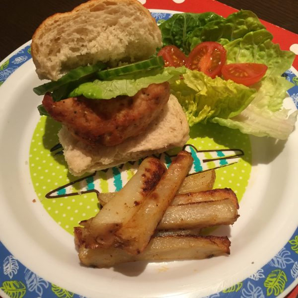 Turkey Burger (dairy, egg, nut, soya & gluten free)