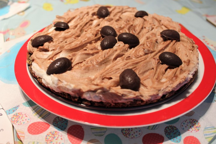 Chocolate Cheesecake (dairy free, egg free, nut free, soya free, vegan)