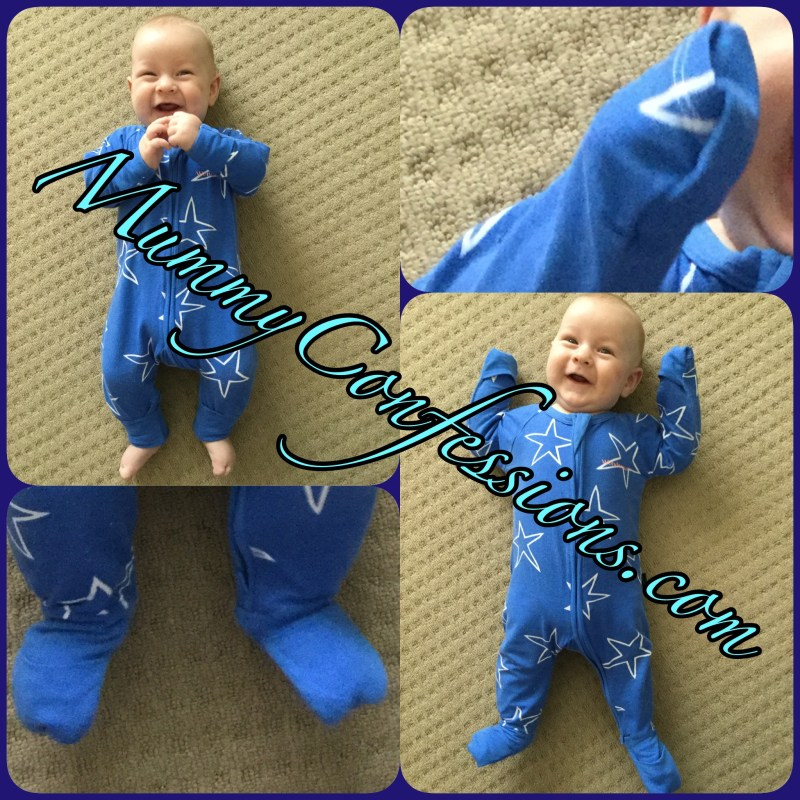 Bonds, zippy, Wondersuit, two way zip, bonds zip Wondersuit, bonds Wondersuit, bonds zippy Wondersuit, zippy, stars, blue, baby, cute baby, fold over feet, fold over mitts, mitts
