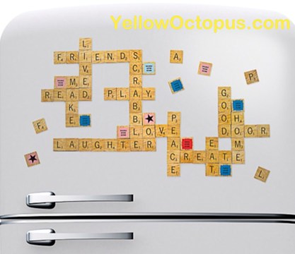 Yellow octopus, gift, valentines