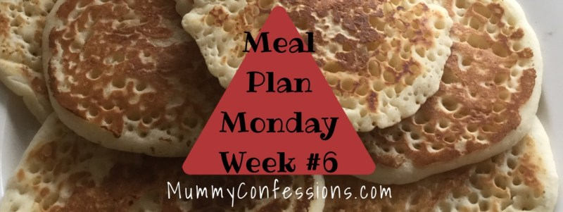 Meal Plan Monday: Week #6