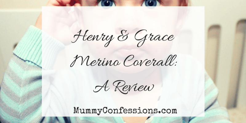 Henry & Grace Sleep Suit: A Review