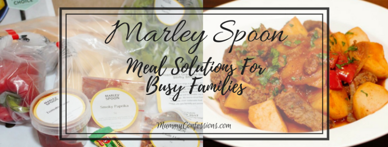 Marley Spoon: A Ready to Prepare Dinner Option