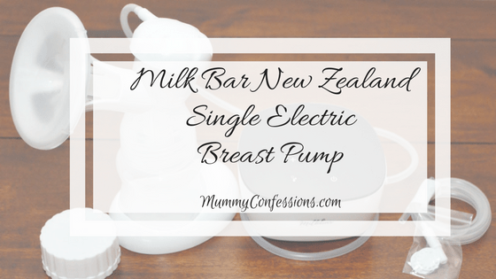 Milk Bar New Zealand Single Electric Breast Pump: Portable Single System Pump