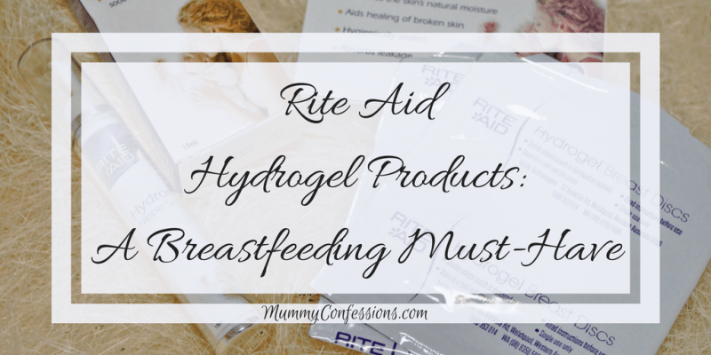 Rite Aid Hydrogel Products: A Breastfeeding Must-Have