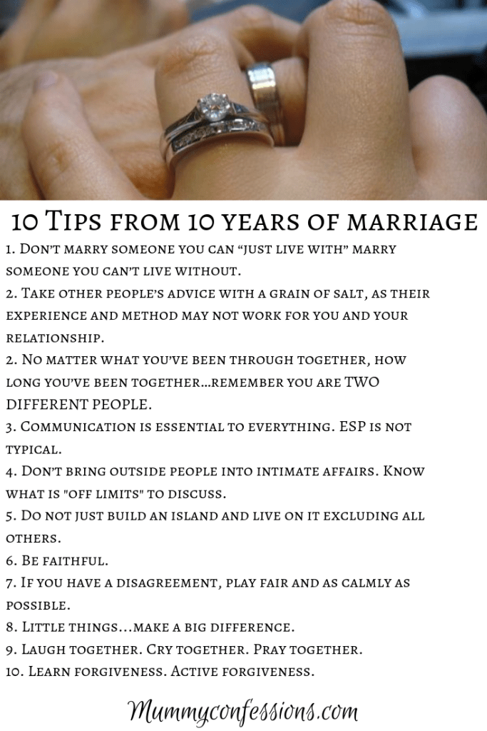 marriage advice for couples
