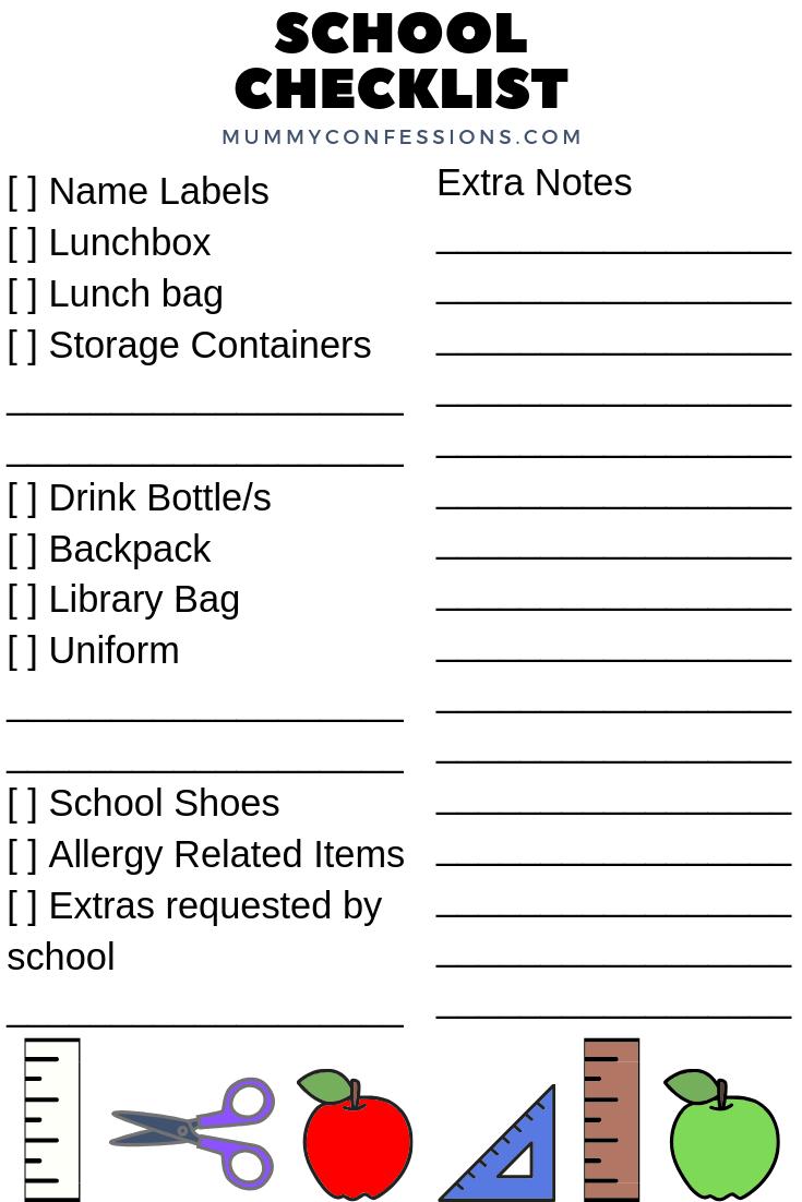 school list help