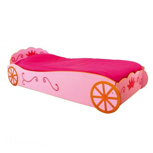 pink-princess-carriage-bed-frame-