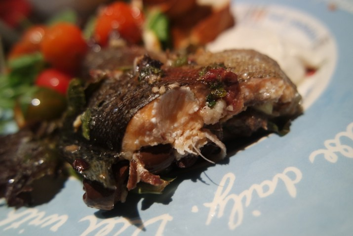 Whole baked trout recipe inspired by #MyHolidayDish