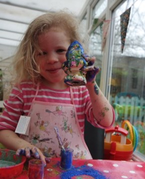 Making our own little Gnomes with Cath Kidston