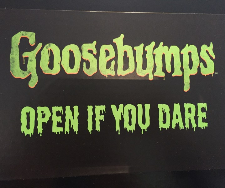 Goosebumps the movie – starring Jack Black