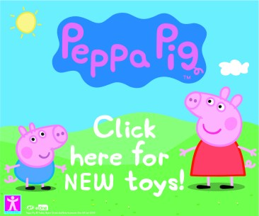 Peppa Pig classic BLOGGERS BUTTON