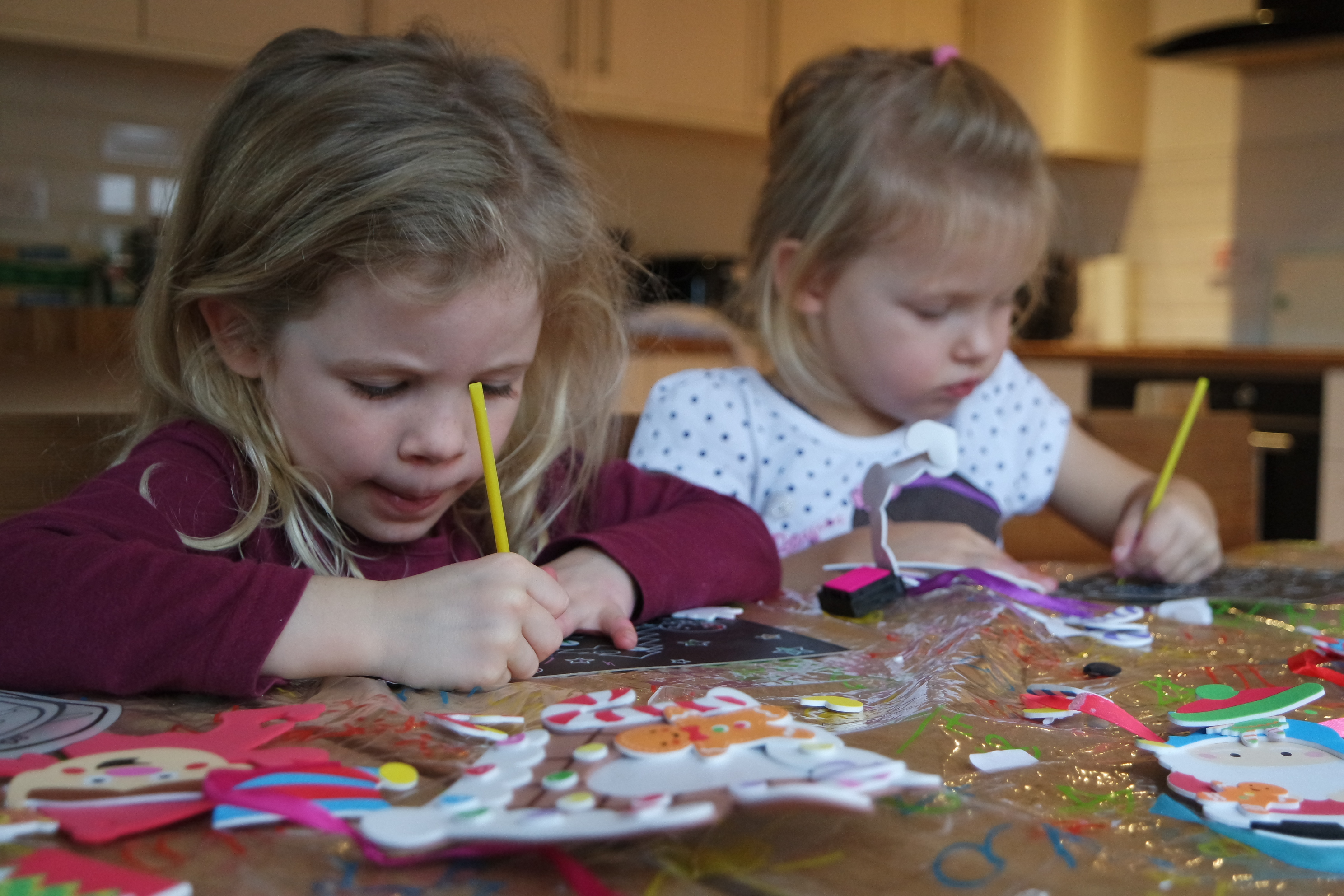 Christmas crafts for the little ones from Baker Ross