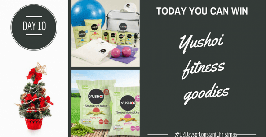 Day 10 – Win Yushoi fitness goodies #12DaysofConstantChristmas
