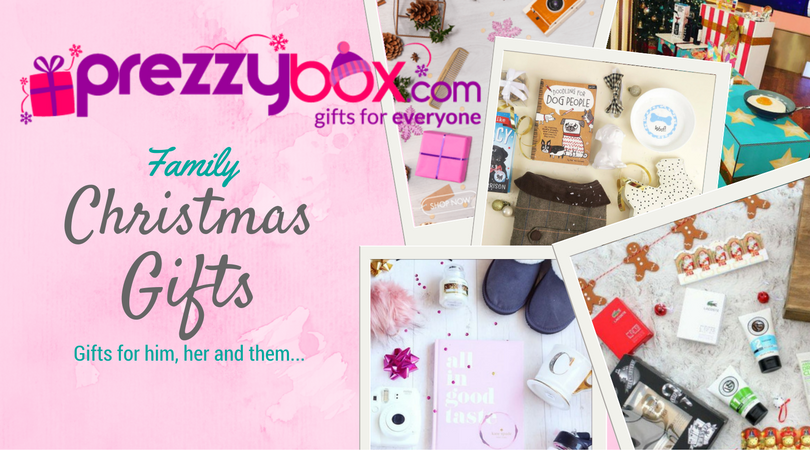 For everything this Christmas, Prezzybox has it wrapped up