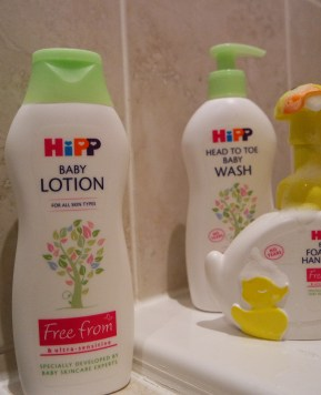 New HiPP Organic and free from Baby Care Range