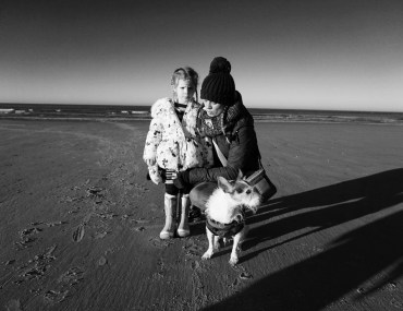A wintery day at my favourite beach: Wells-Next-The-Sea