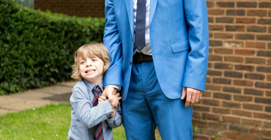 Buying the perfect suit for your man