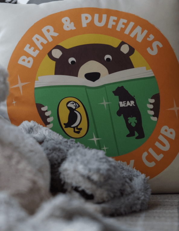 Creating a reading cave with BEAR & Puffin's Big Book Club