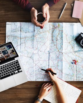 How to be more productive when working while traveling