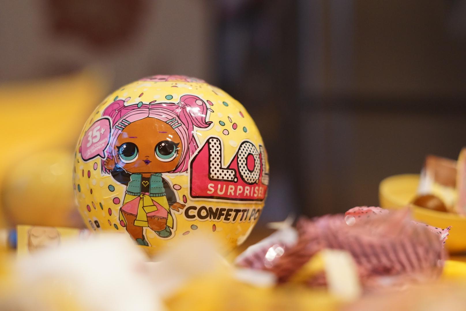 It's a L.O.L. SURPRISE! Confetti Pop Valentine's kind of day
