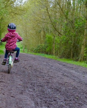Cycling with the kids –  learning to ride