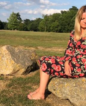 Mummy's wardrobe hack – the versatile midi dress 4 ways