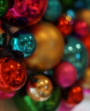 Christmas in bright colour with Paperchase