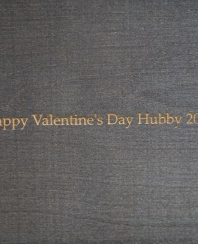 A wonderful surprise for Hubby this Valentine's Day